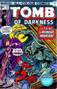 Tomb of Darkness #18, VF (Stock photo)