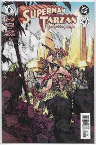 Superman/Tarzan: Sons of the Jungle #2 of 3 NM Dixon/Meglia, cover: Ramos
