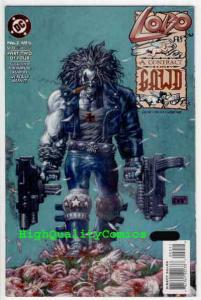 LOBO CONTRACT ON GAWD #2, NM+, Alan Grant, St Lobo, Hell, more Lobo in store