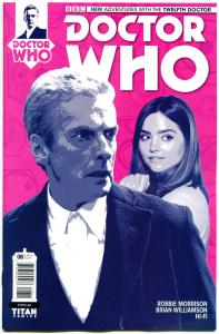 DOCTOR WHO #8 A, NM, 12th, Tardis, 2014, Titan, 1st, more DW in store, Sci-fi