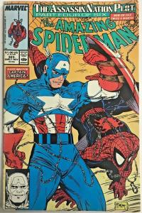 AMAZING SPIDER-MAN#323  VG 1989 TODD MCFARLANE MARVEL COMICS