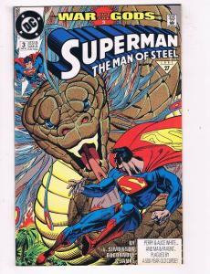 Superman: The Man Of Steel #3 VF/NM DC Comics Comic Book Simonson 1991 DE43 TW14