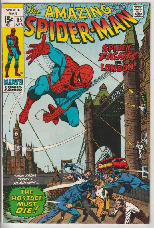 Amazing Spider-Man #95 (Apr-71) VF/NM High-Grade Spider-Man