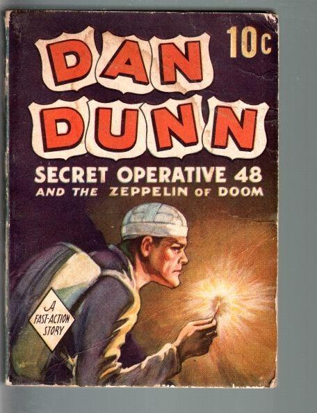 DAN DUNN SECRET OPERATIVE 48 AND THE ZEPPELIN OF DOOM-1938-DELL FAST ACTION VG
