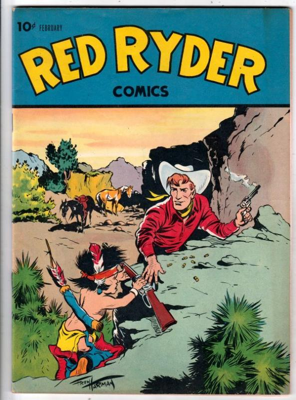 Red Ryder Comics #43 (Feb-47) FN/VF Mid-High-Grade Red Ryder