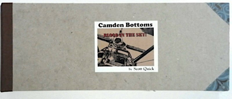 Camden Bottoms Webcomic Blood in the Sky & Whither Thou Ridley by Scott Quick HC