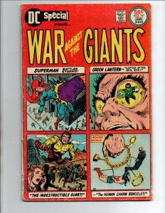 DC Special #19 - War Giants -Superman -Green Lantern -Woinder Woman -1976 -VG/FN