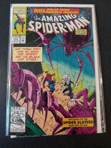 Amazing Spider-Man # 372 Black Cat Versus Spider-Slayers 1993