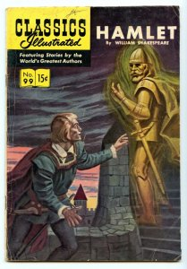 Classics Illustrated 99 (Original) Sep 1952 VG (4.0)