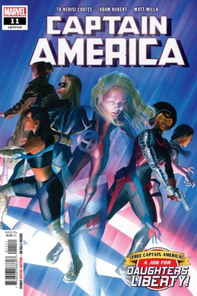 Captain America (Sept 2018 series) #11, NM + (Stock photo)