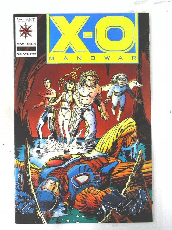 X-O Manowar (1992 series) #4, NM + (Actual scan)