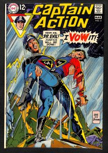Captain Action #3 (1969)