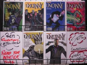 UNCANNY (2013 DYNAMITE) 1D,2A-4A,5B,6A  COMPLETE!