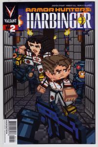 Armor Hunters Harbinger #2 (Valiant, 2014) Valiantcraft Variant Cover  9.6 NM+
