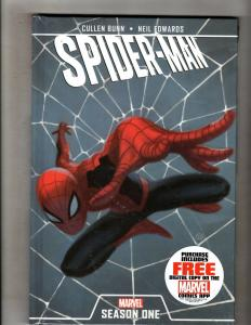 Spider-Man Season One Marvel Comics Graphic Novel Book HARDCOVER Sealed J352
