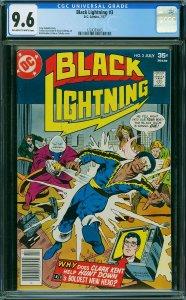 Black Lightning #3 (DC, 1977) CGC 9.6