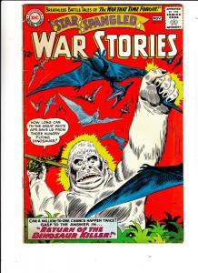 Star Spangled War Stories #111 (Nov-63) FN+ Mid-High-Grade Dinosaur