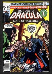 Tomb of Dracula #65 (1978)