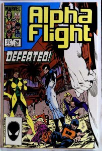 Alpha Flight #26 (1985)