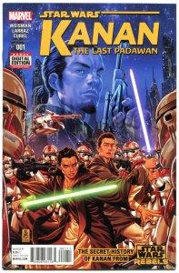 STAR WARS KANAN the LAST PADAWAN #1, VF/NM, 2015, Storm Troopers