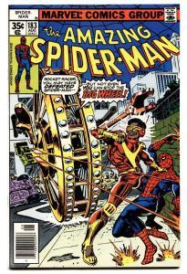 AMAZING SPIDER-MAN #183 comic book-1978-BIG WHEEL-MARVEL-SPIDEY