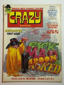 Crazy Magazine #1 Kelly Freas Cover Marv Wolfman Herb Trimpe 1973 Marvel Mag