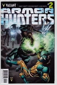 Armor Hunters #2 (Valiant, 2014)   9.6 NM+