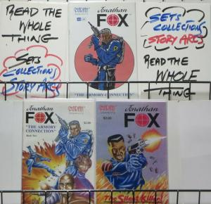 JONATHAN FOX (Mariah Graphics, 1993) #1,2 SPECIAL  Complete series! VF-NM