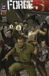 Force 51 #1 VF/NM; Dakuwaka | save on shipping - details inside