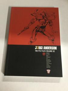 Judge Anderson The Psi Files Vol 2 Nm Near Mint 2000ad SC TPB