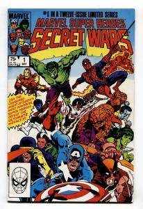 MARVEL SUPER HEROES SECRET WARS #1  comic book 1984-SPIDER MAN Marvel VF/NM