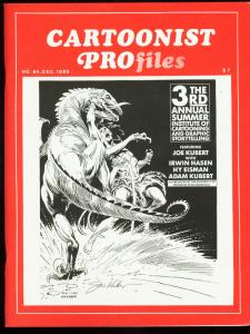 CARTOONIST PROFILES #84-1987-JOE KUBERT-FOX TROT VF