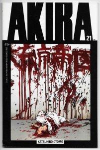 Akira #21 Katsuhiro Otomo (Epic/Marvel, 1990) FN