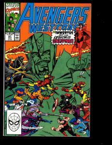 12 West Coast Avengers Marvel Comics # 61 62 63 64 65 66 67 68 69 70 71 72 GK6