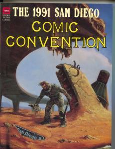 San Diego Comic Convention 1991-Arargones-Carl Barks-Alex Toth-Eisner-Woggon-G