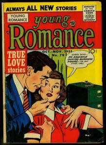Young Romance #79 1955- Jack Kirby art- Prize comics G/VG