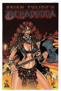 Belladonna Preview Platinum Foil Edition Ltd to 800 Sealed w/COA (2004) NM