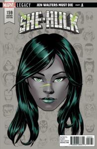 She-Hulk #159B VF/NM; Marvel | save on shipping - details inside
