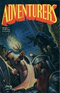 Adventurers (1986 series) #7, VF- (Stock photo)