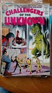 CHALLENGERS OF THE UNKNOWN #43(DC,1965) Condition VG