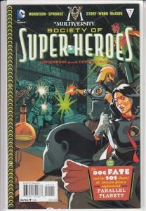 Multiversity #1 Society of Super heroes Abin Sur, Lady Blackhawk, Doc. Fate NM