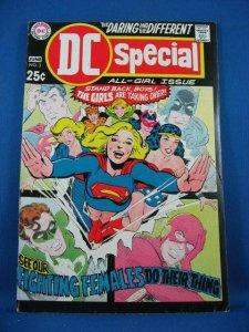 DC SPECIAL 3 VF- Supergirl Wonder Woman Black Canary 1969 Neal Adams Cvr