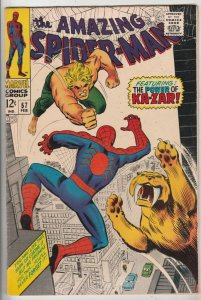 Amazing Spider-Man #57 (Feb-68) VF/NM High-Grade Spider-Man