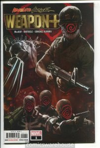 ABSOLUTE CARNAGE WEAPON PLUS (2019 MARVEL) #1 NM