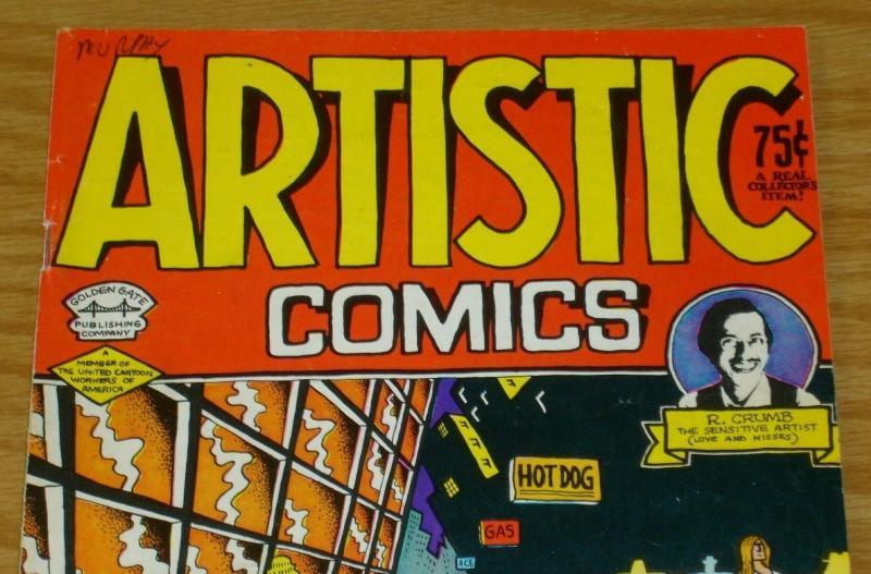 Artistic Comics #1 VG (1st) print - robert crumb - underground comix sketchbook