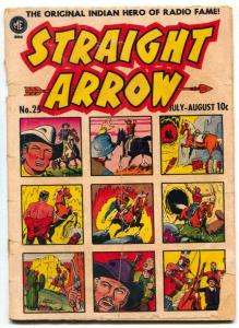 Straight Arrow #25 1952- Ghost of Hiawatha- reading copy