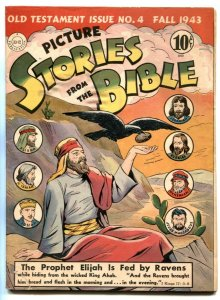 Picture Stories From The Bible #4 1943- Old Testament FN-