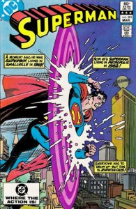 Superman #381 (ungraded) stock photo / SMC