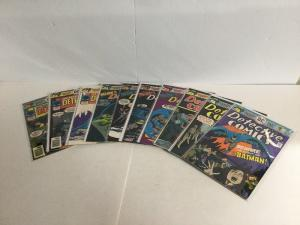 Detective Comics 451-460 Lot Set Run Vf-Nm Very Fine-Near Mint