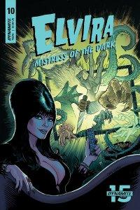 Elvira Mistress Of The Dark #10 Cvr B Cermak (Dynamite, 2019) NM